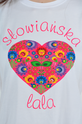 Bluzka tshirt Słowiańska Lala biała S/M