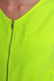 Kombinezon na suwak neon żółty