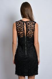 Sukienka z grubej koronki na ramiączkach S