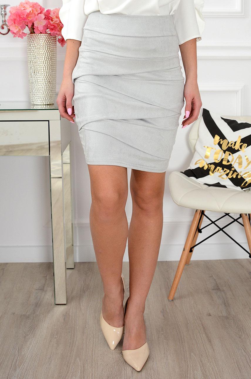 Dámska sukňa Cocon sivá