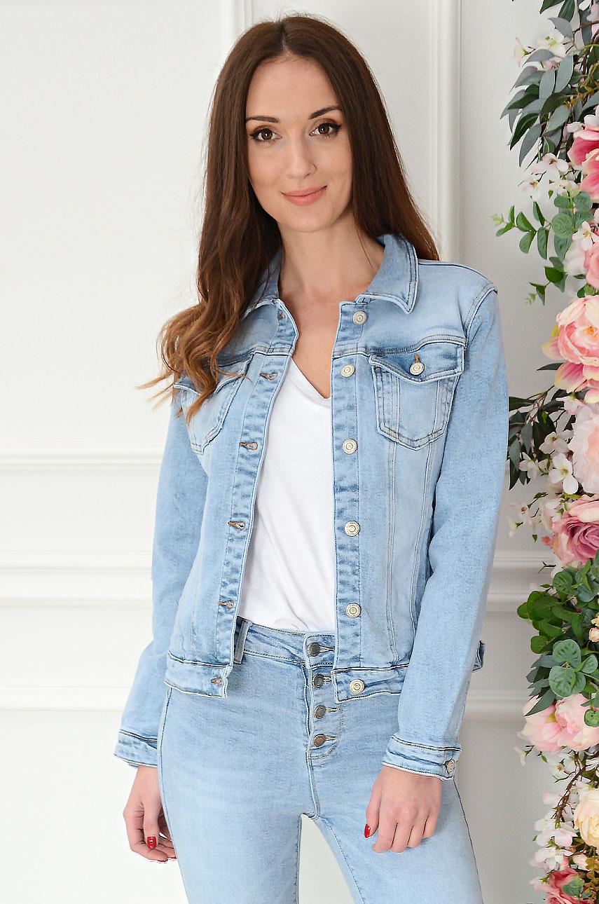 Svetlomodrá džínsová bunda Kimba
