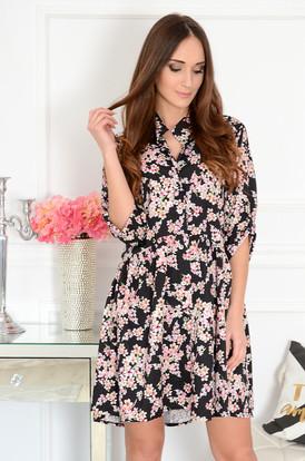 be2448f0b4 Sukienki rozkloszowane eleganckie koronkowe Sklep cocomoda.pl 2