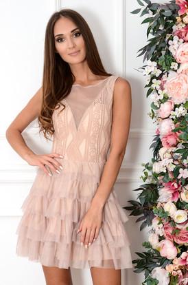 c05127d3886a31 Sukienki z koronki z długim rękawem na wesele Sklep cocomoda.pl
