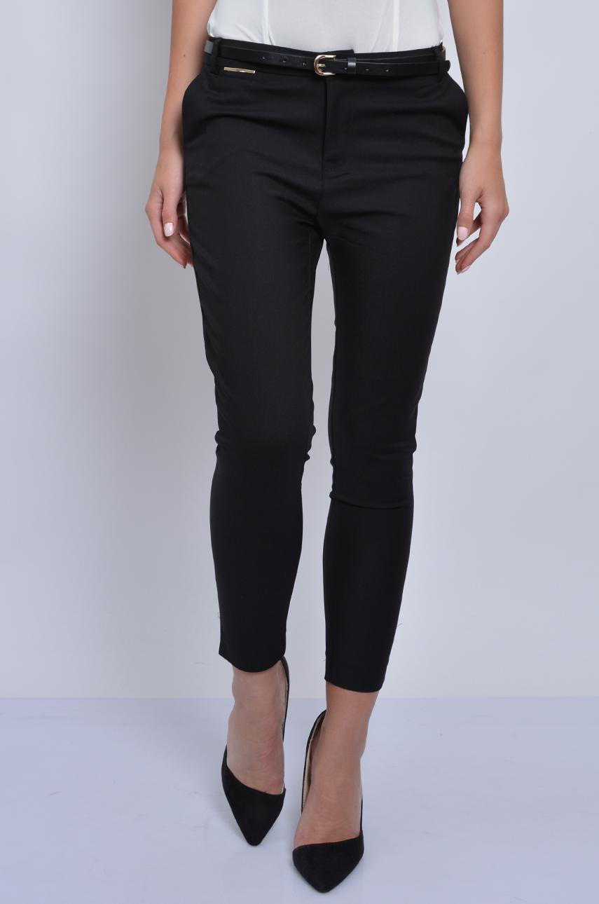 Spodnie Freesia cygaretki 78 czarne