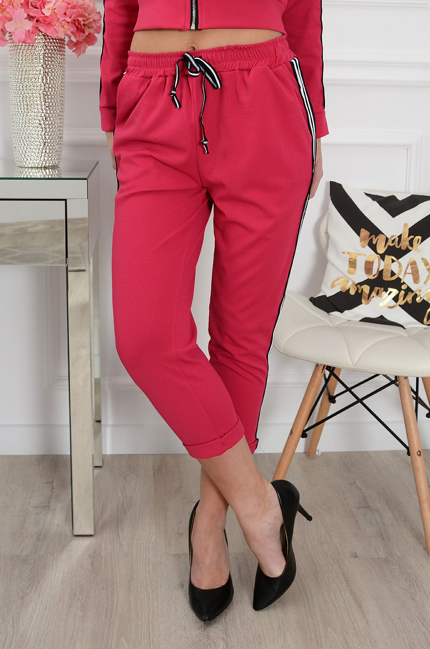 Spodnie dresowe fuksja Instant
