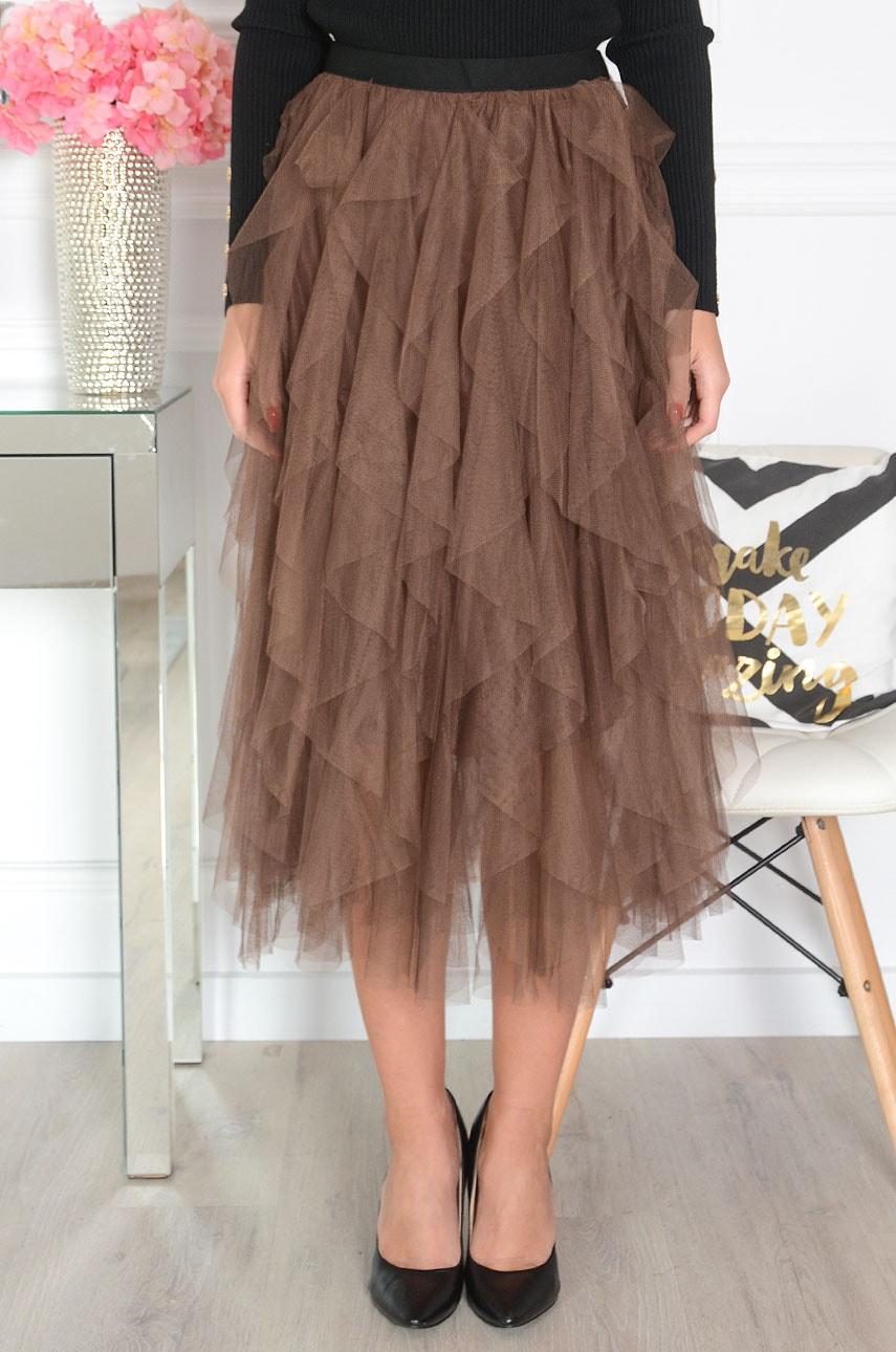 Spódnica z falbanami Spódnice Odzież Dla Niej