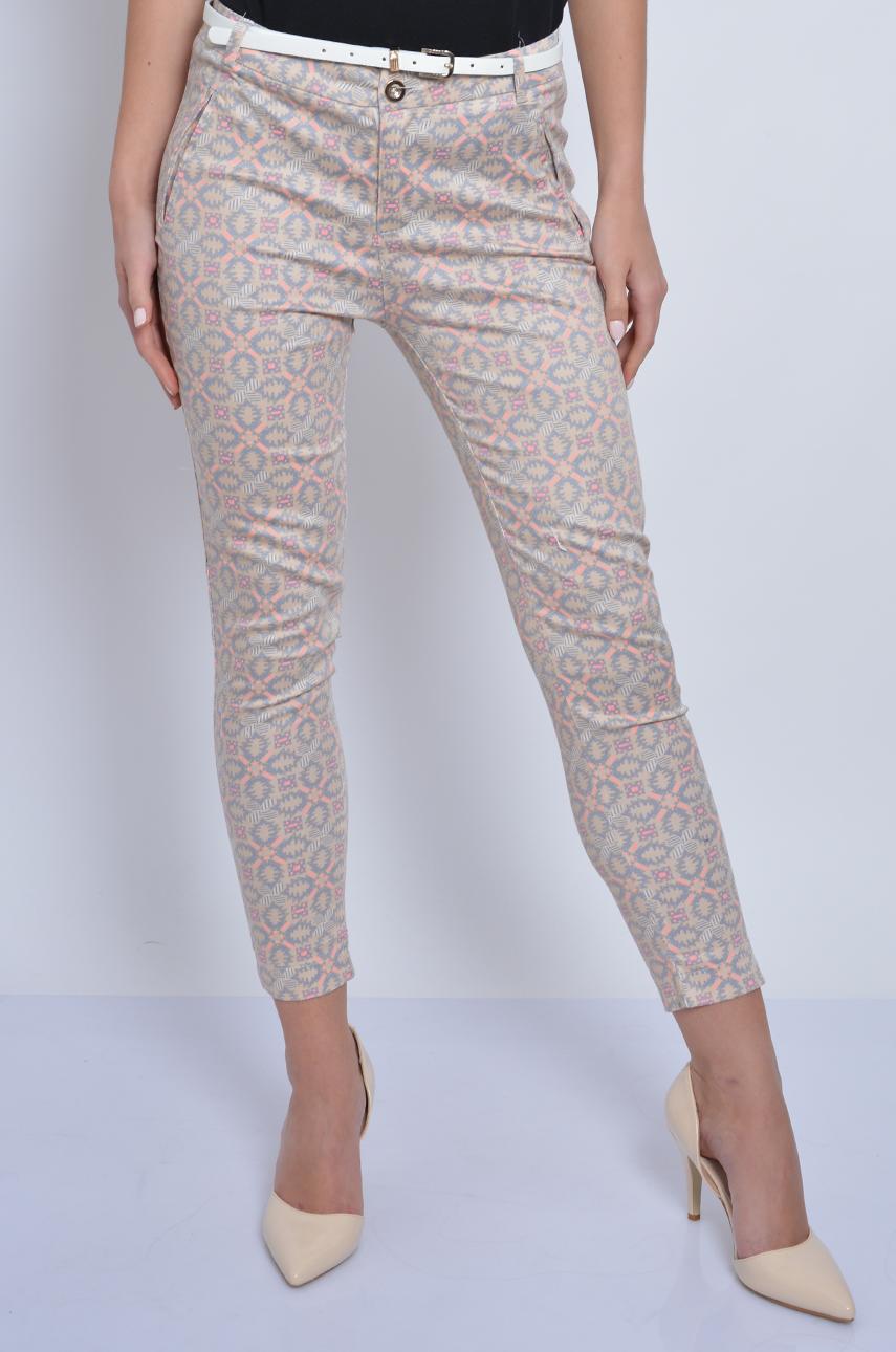 1215f479bcf7 Spodnie Freesia we wzory beżowe - Cocomoda.pl - odzież damska...
